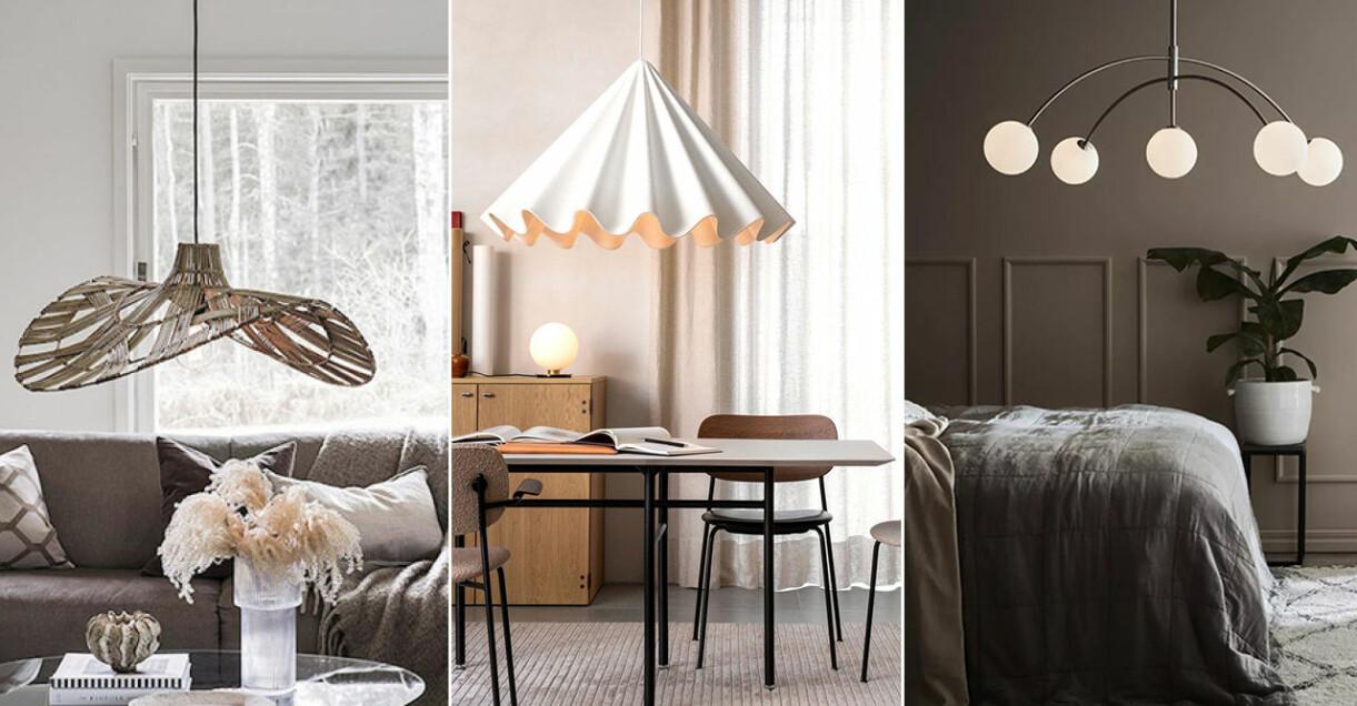 Populära och trendiga taklampor
