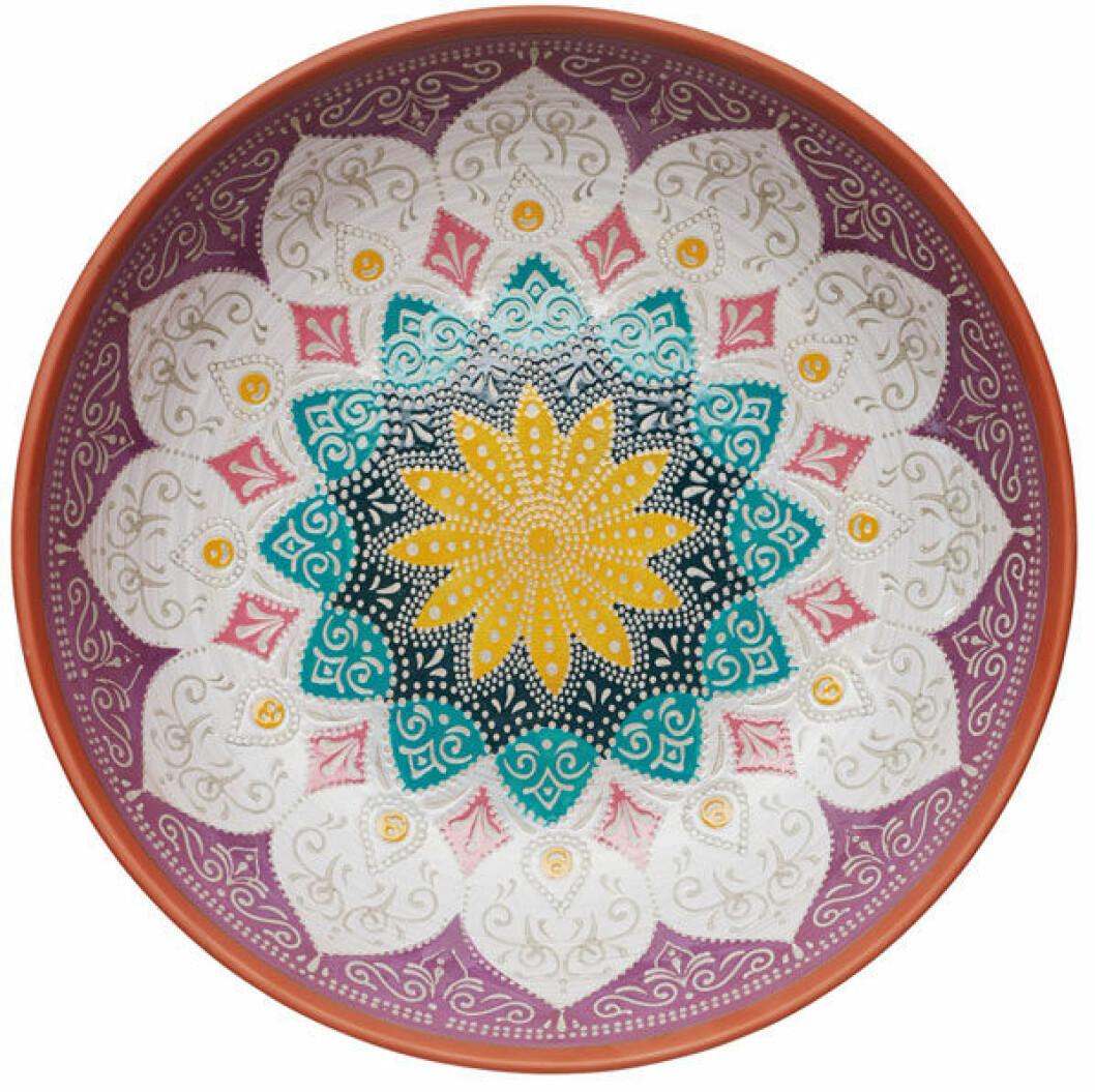 Vacker terrakotta-skål från Indiska.