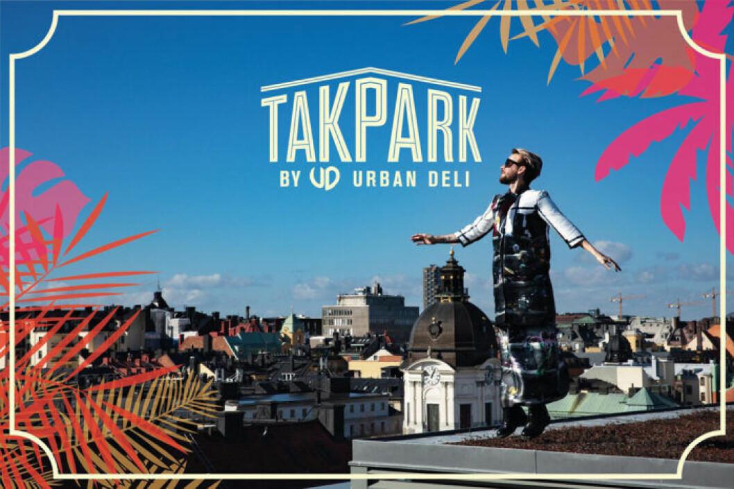 Fredrik Robertsson är ny nöjesansvarig för Takpark by Urban Deli.
