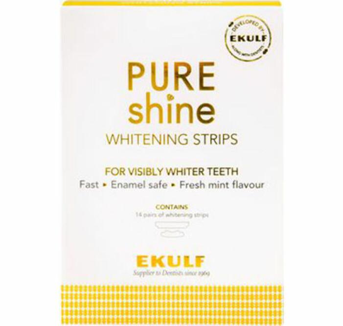tandblekning pure shine