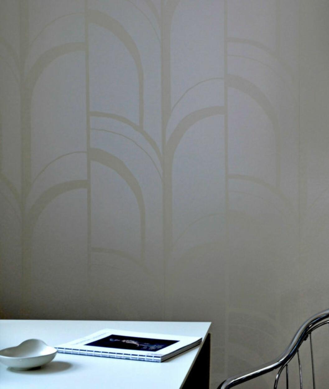 Tapet Reflections från Mimou, design Malin Karstensson