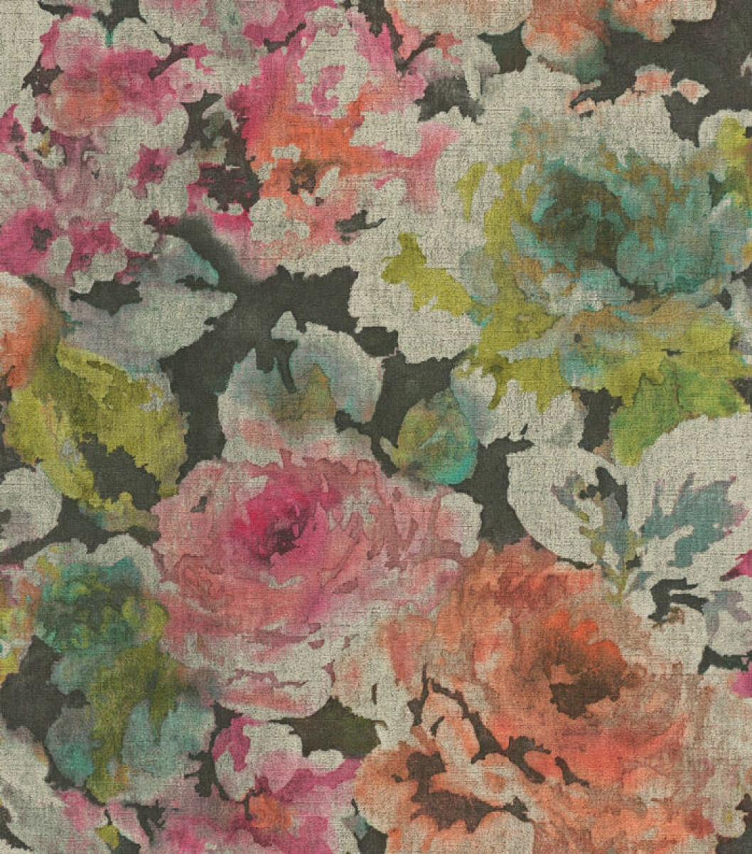 Blommig tapet ur Midbecs kollektion Florens