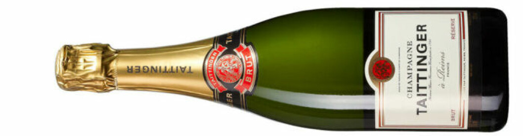Tattinger – klassisk champagne.