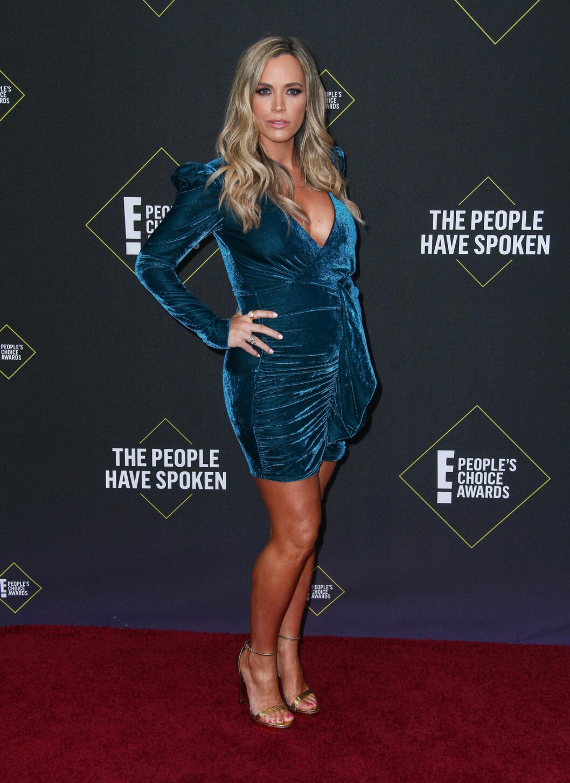 Teddi Jo Mellencamp på röda mattan på People's Choice Awards 2019