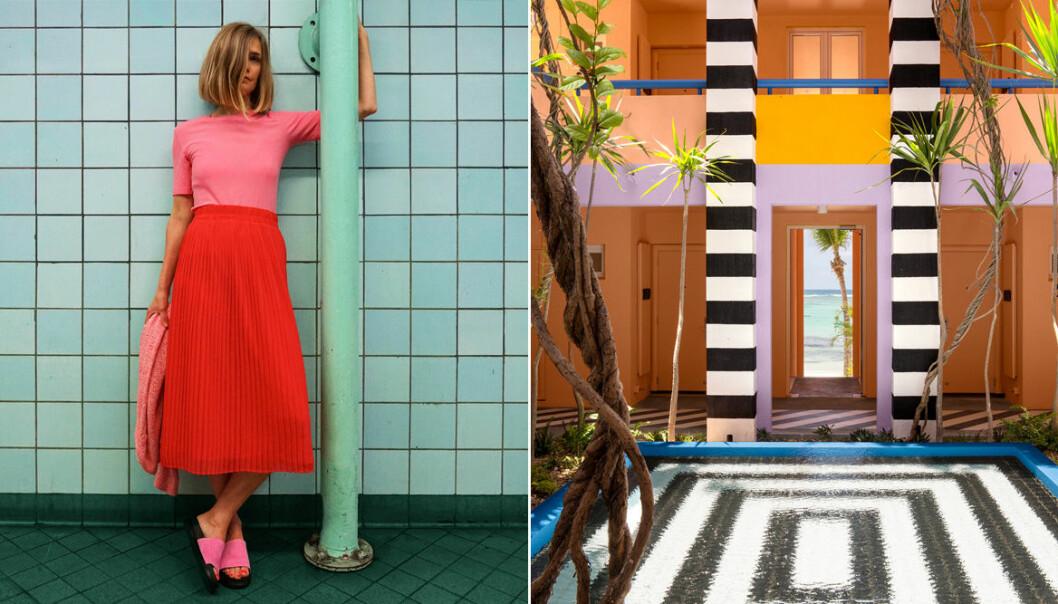 Tekla Evelina Severin och färginspiration på Instagram