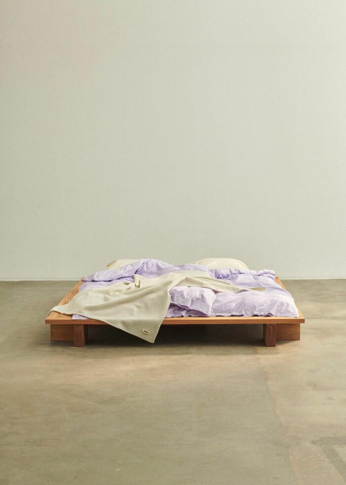Sängkläder i percale från Tekla