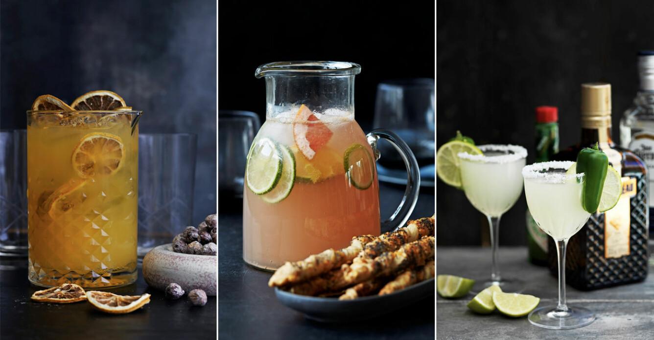 4 härliga cocktails med citrus