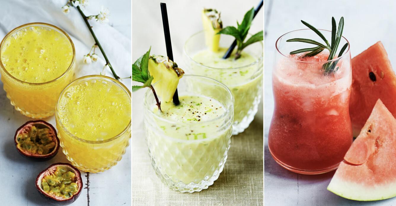 Fira in semestern med 4 exotiska cocktails