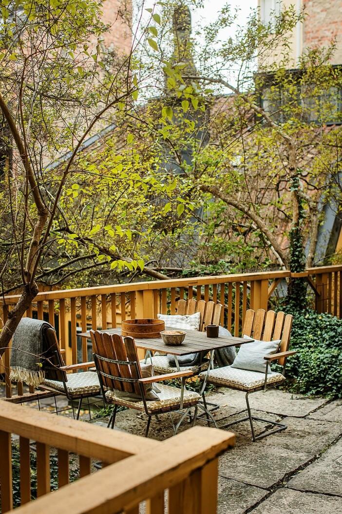 terrass på innergården på södermalm