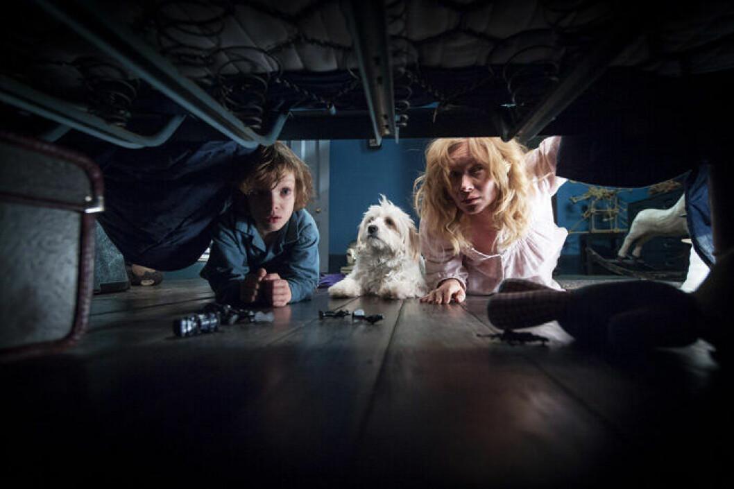 En bild från skräckfilmen The Babadook.
