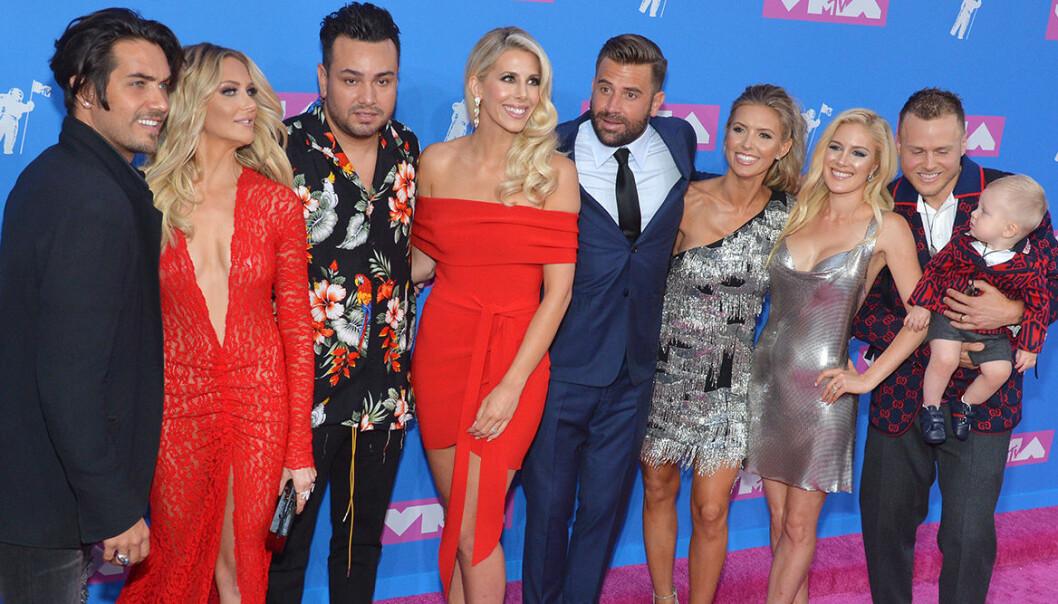 Nya The Hills-casten på MTV video music awards 2018