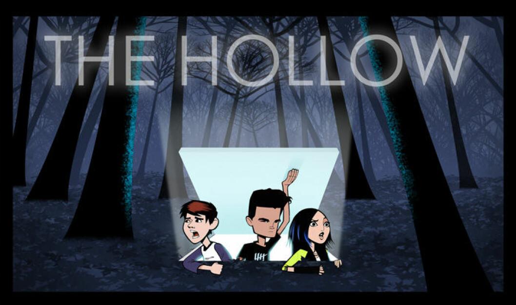 En bild från tv-serien The Hollow på Netflix.