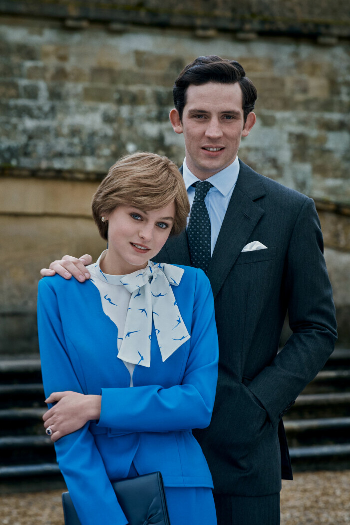 Diana och Charles i The Crown