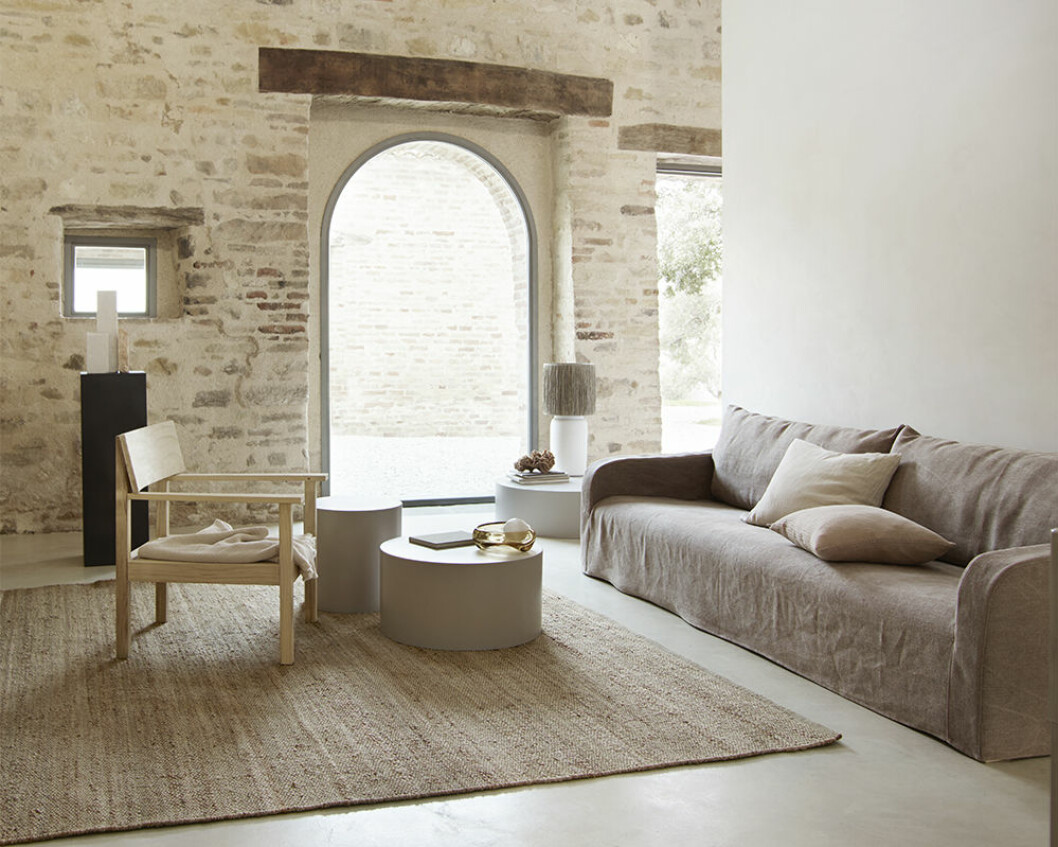 Låg soffa från Tine K 2020