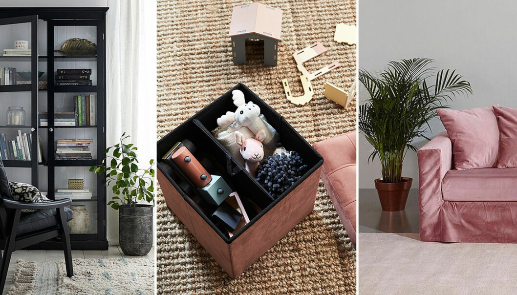 Tips och prylar för ett lättstädat vardagsrum