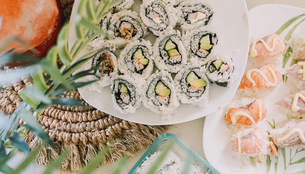 Tips på vin till sushin och andra drycker till sushin