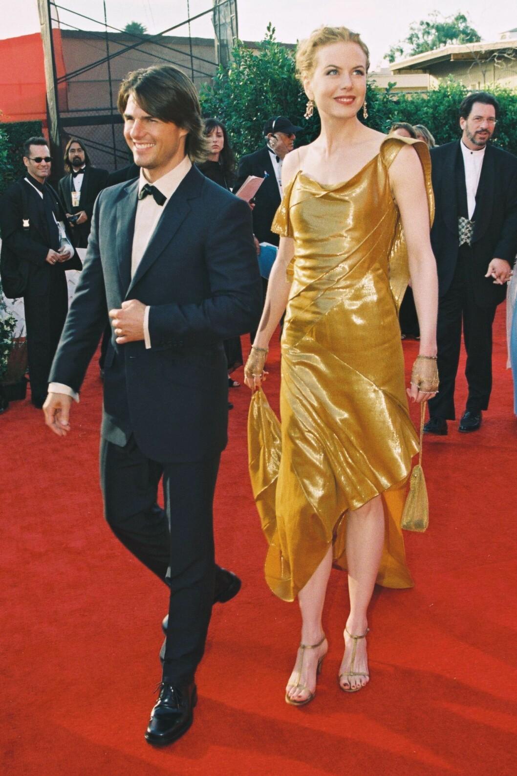Tom Cruise och Nicole Kidman på Oscarsgalan