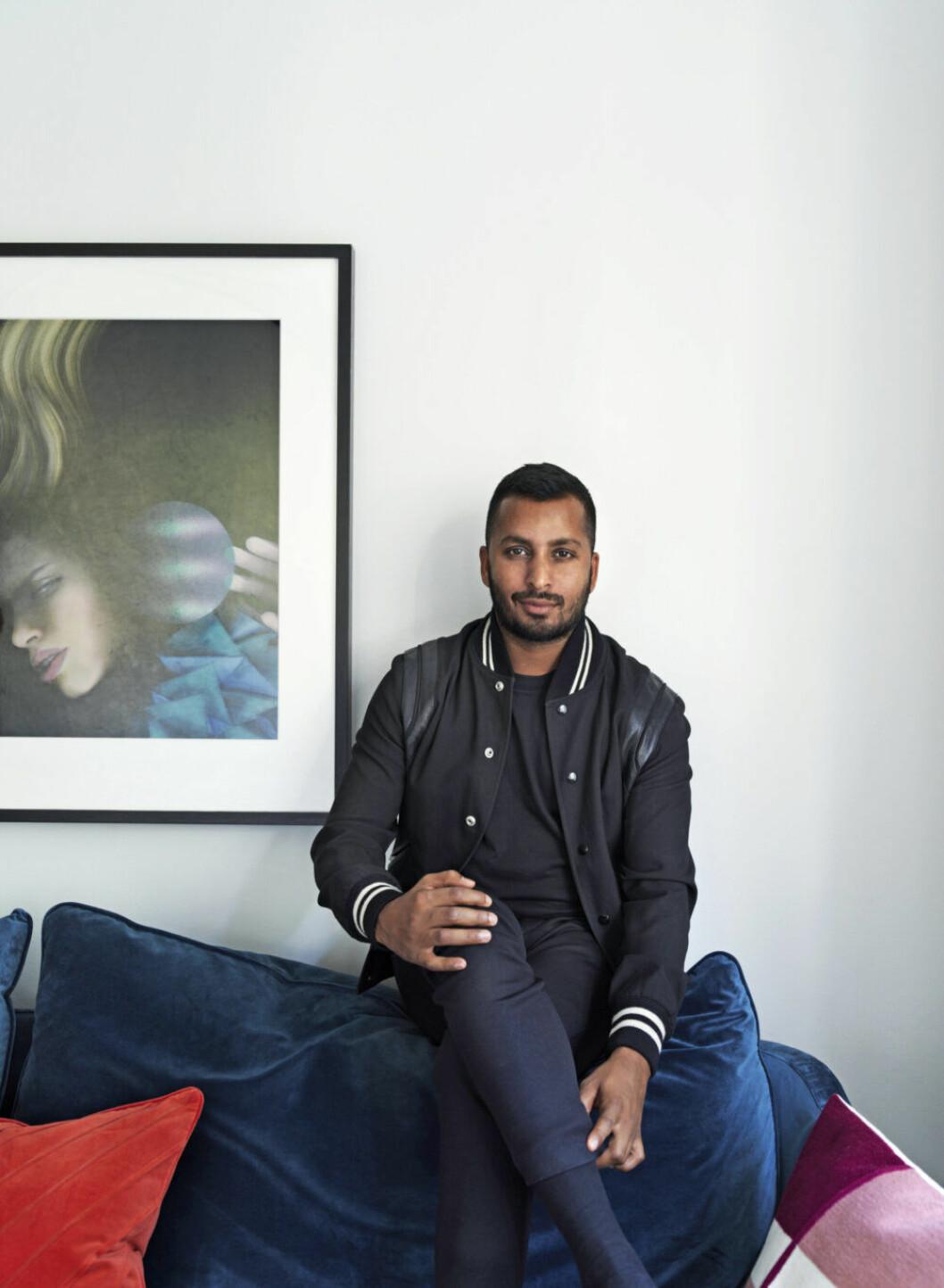 Tomai Nordgren, global concept manager på J. Lindeberg