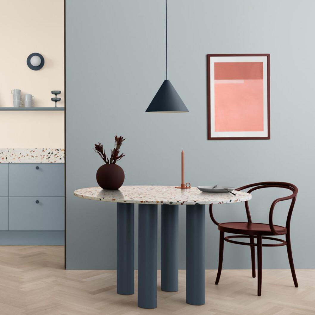 Inredningsnyheter Toniton blått kök