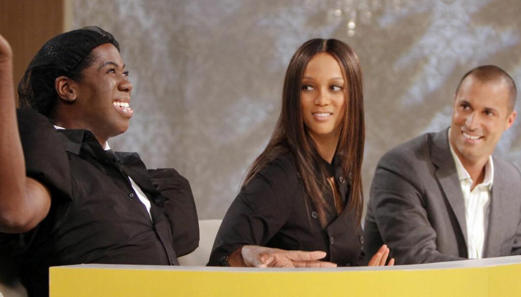 Miss J, Tyra Banks och Nigel Barker