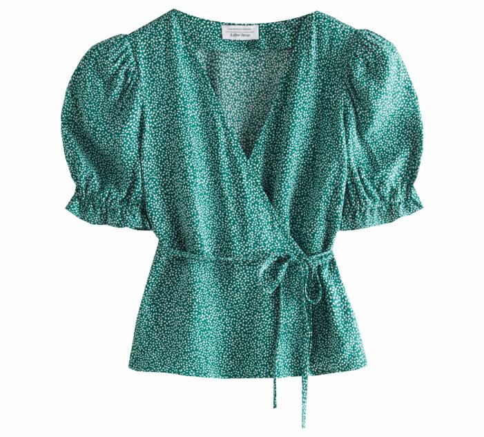 grön blus omlott