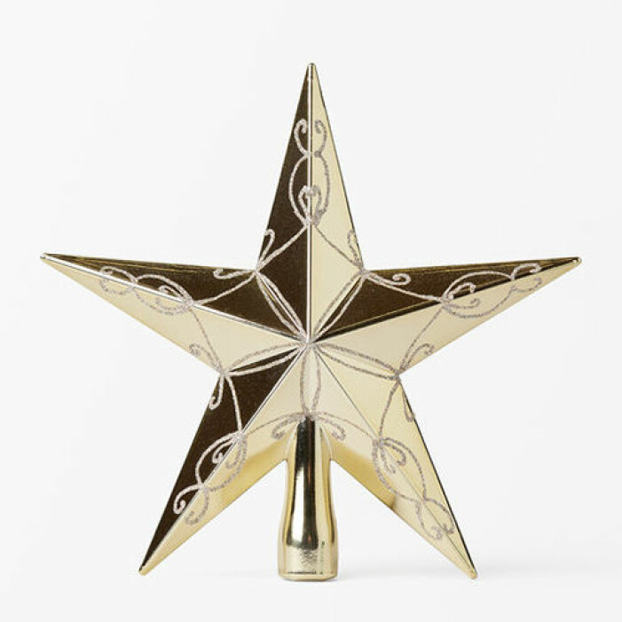 Toppstjärna i guld, Åhléns