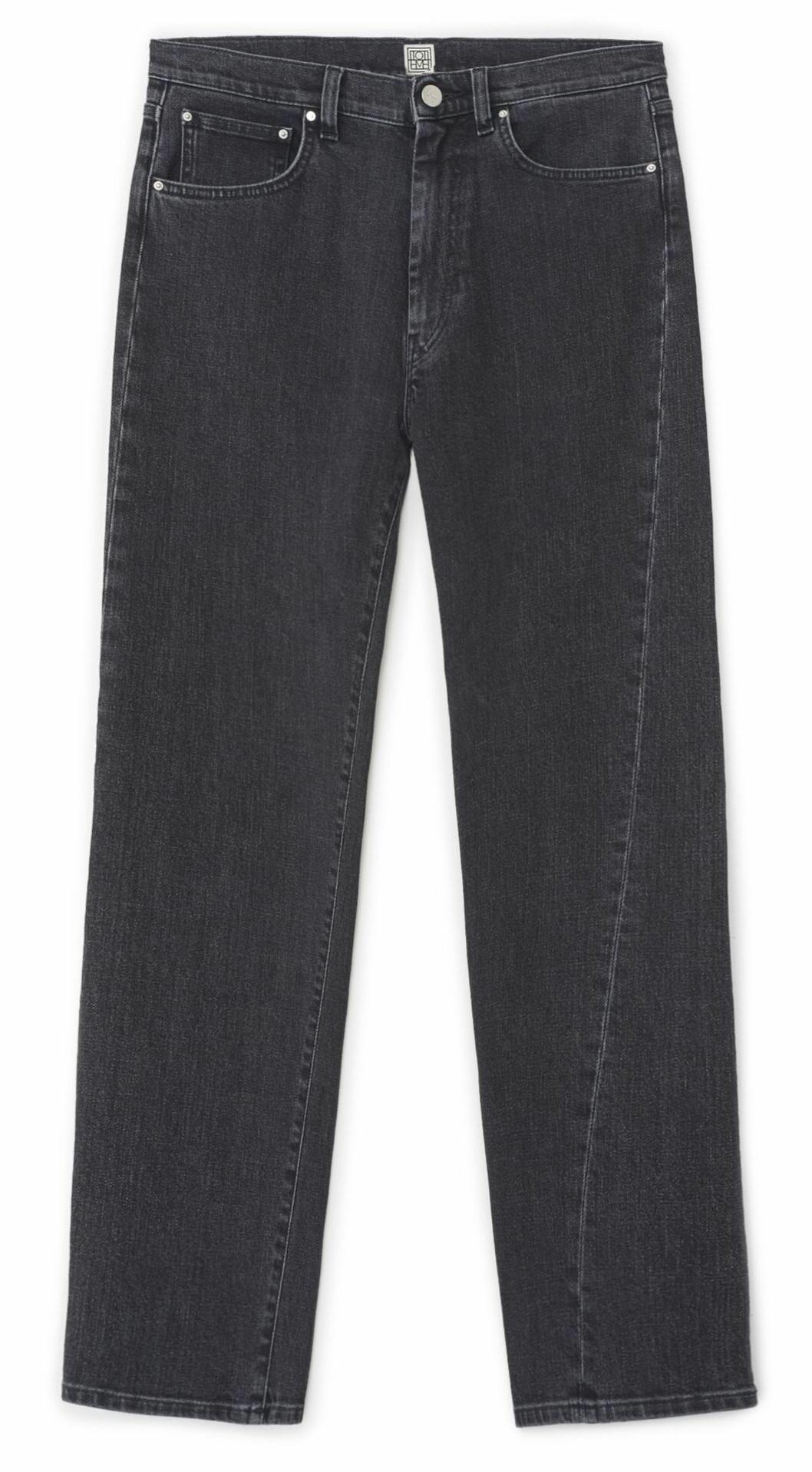 Jeans i grå tvätt från Totême.