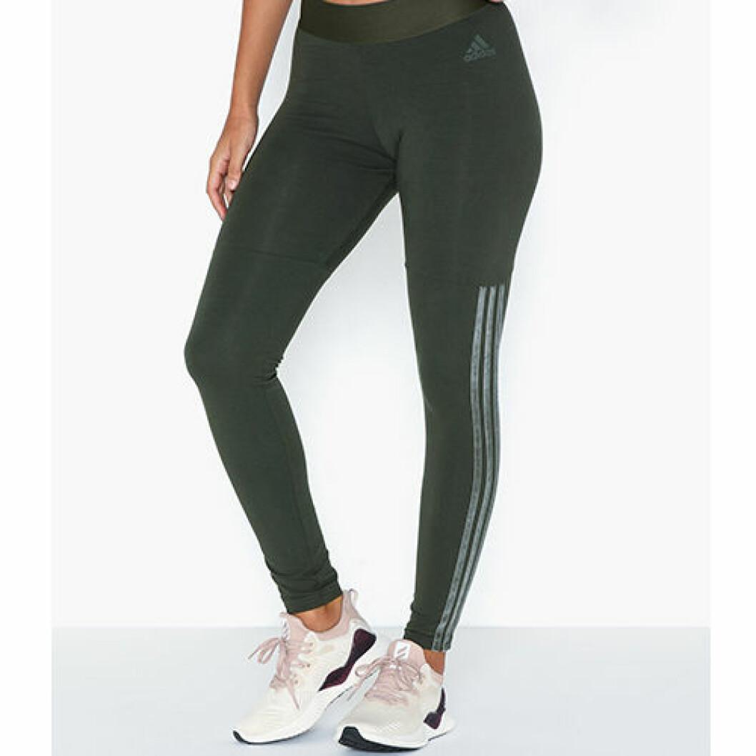 Gröna träningstights från Adidas