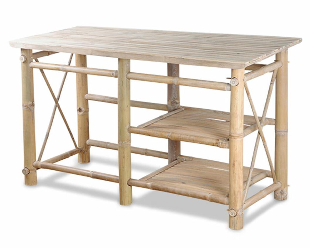 utekök i bambu från tranquilo kitchen