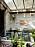 Trender för balkong och uteplats 2021, gröna växter