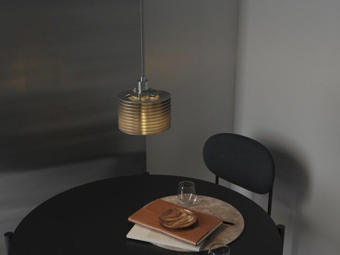 Inredningsnyheter i december Haha studio splash lampa