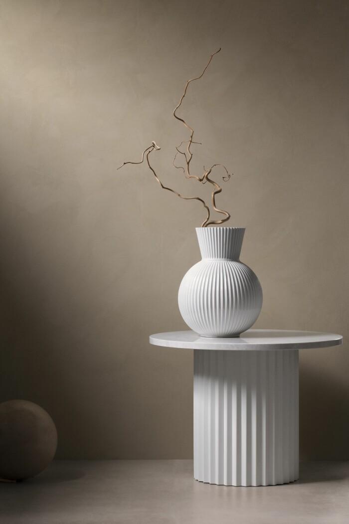 Inredningsnyheter i december vs Lyngby porcelain