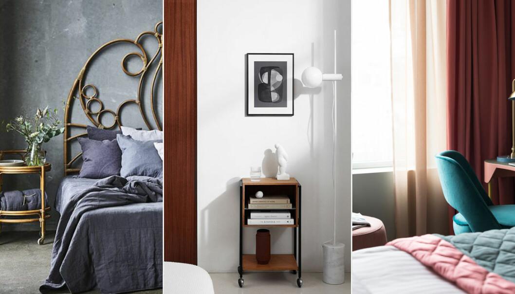 7 trendiga sätt att inreda sovrummet i hotellstil