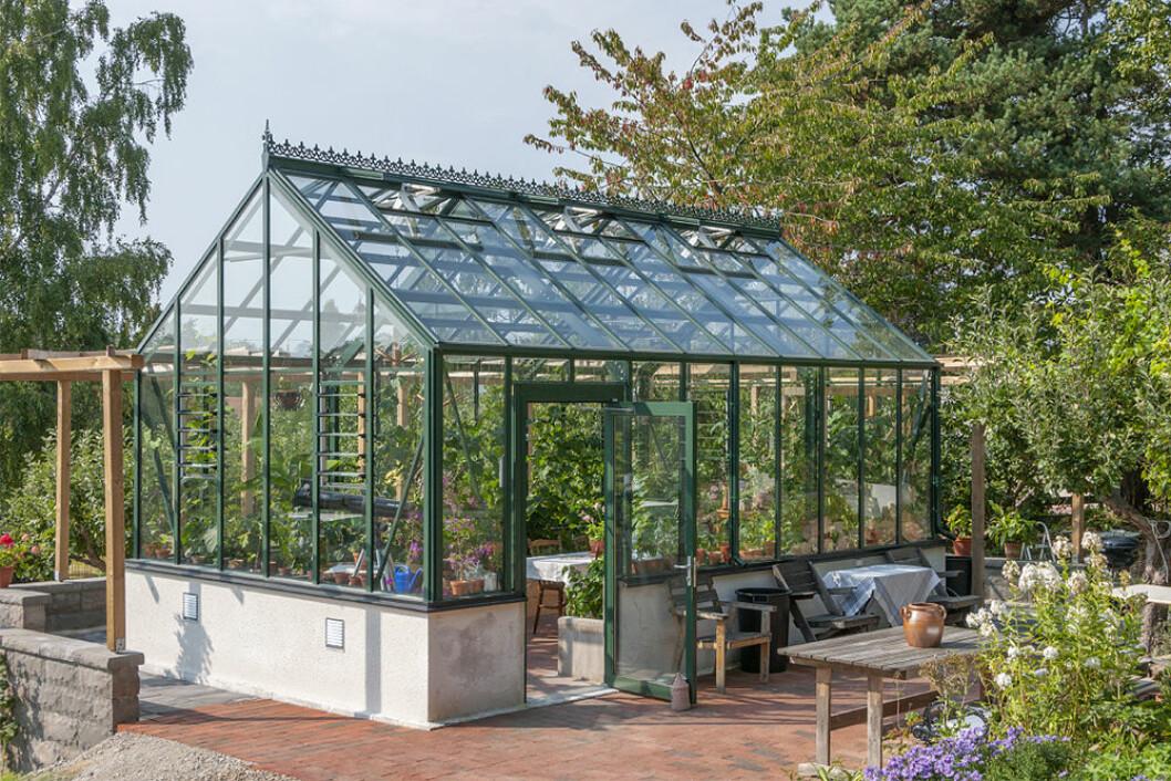 Växthus och orangeri ger en lång sommar i trädgården