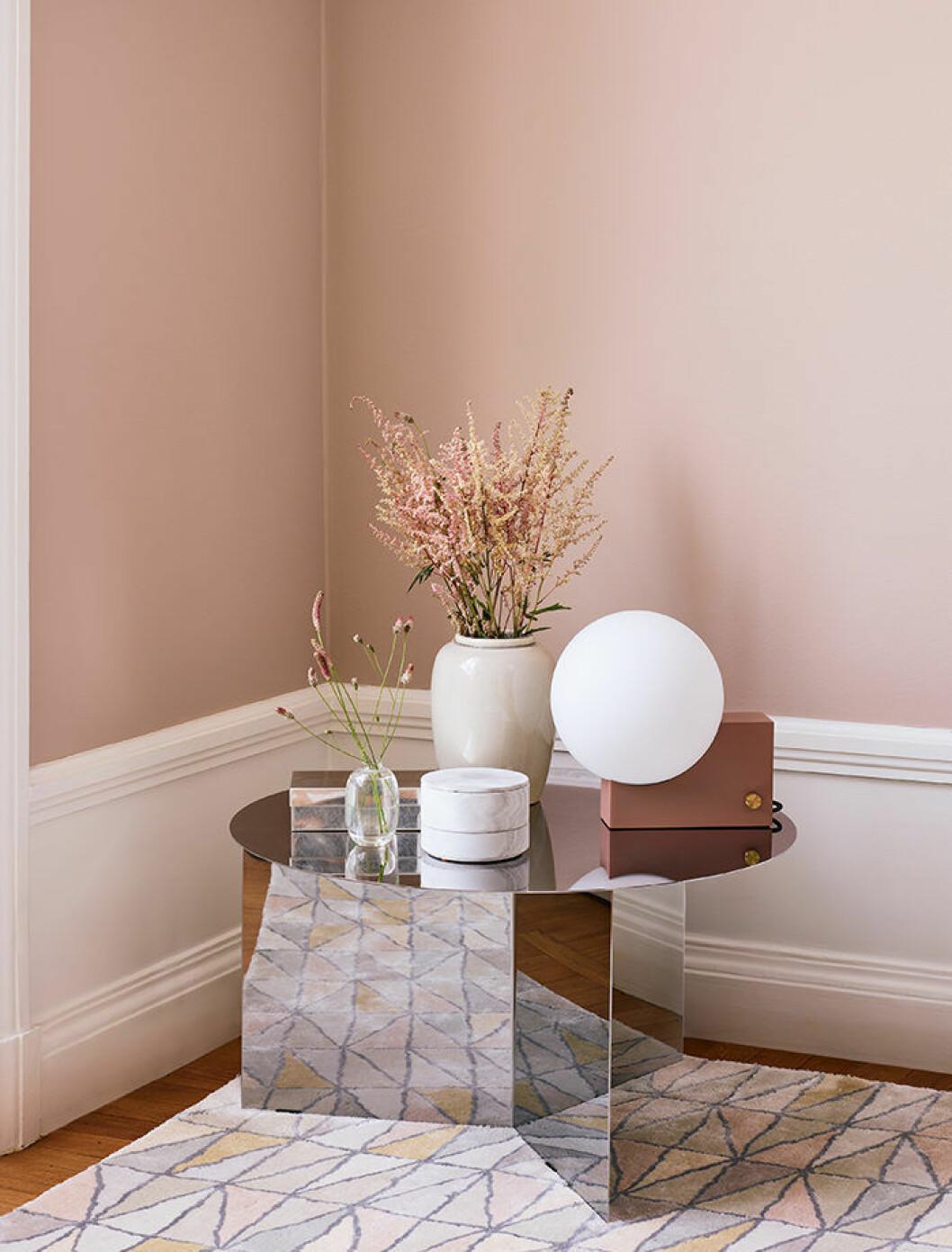pastellrosa är populärt 2019 – här hos beckers