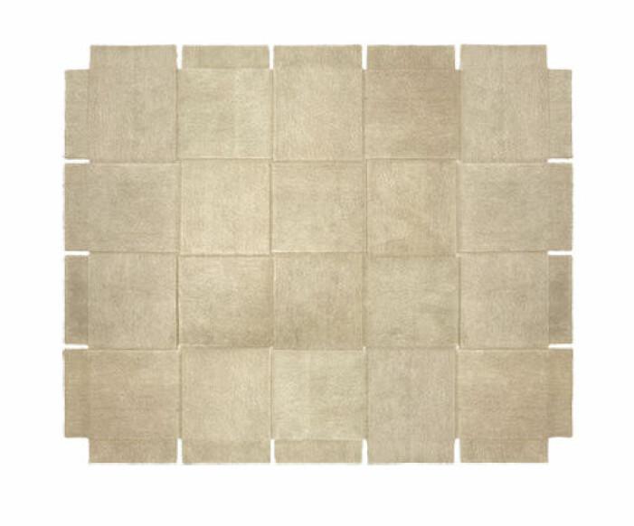 trendig beige matta från house of stockholm