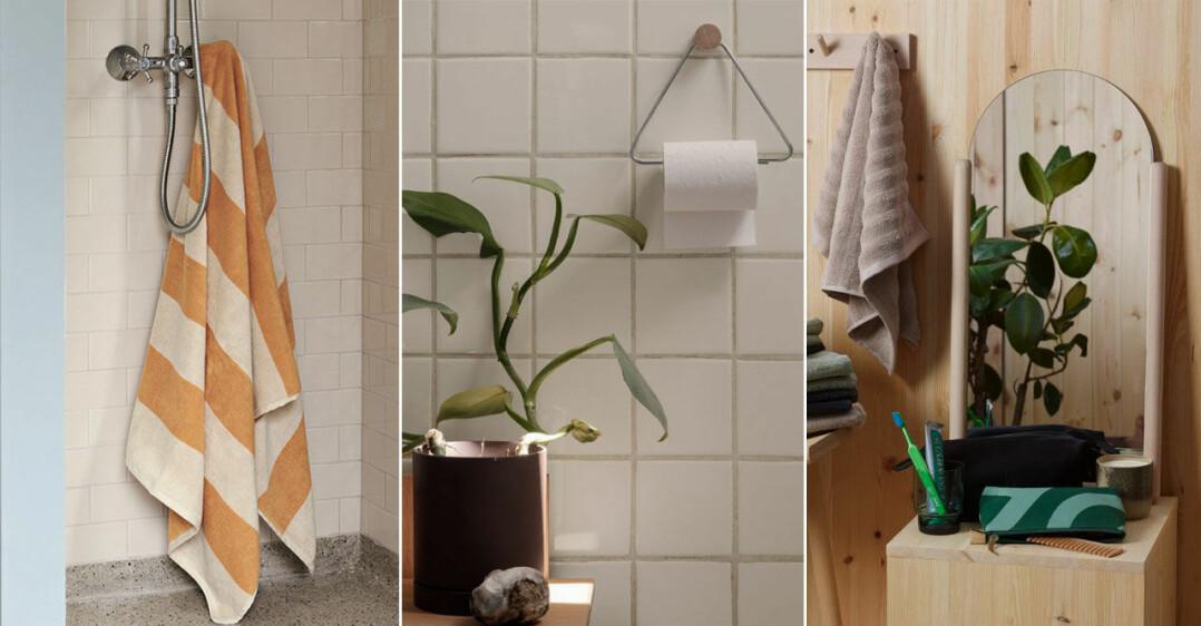 Trendiga detaljer att inreda badrummet med