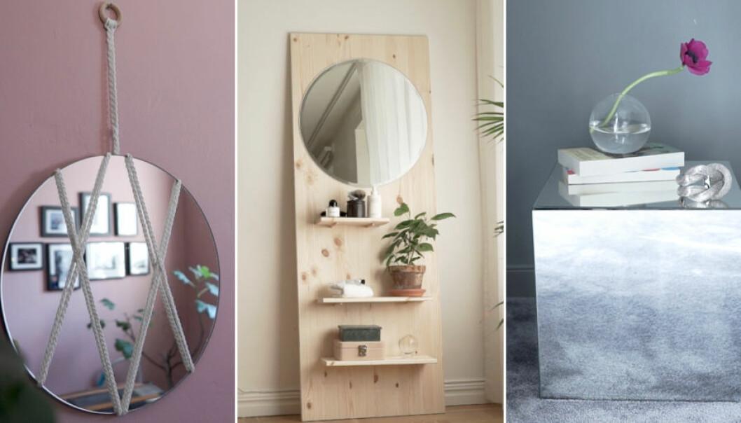 Här är flera olika spegelhacks för hemmet.