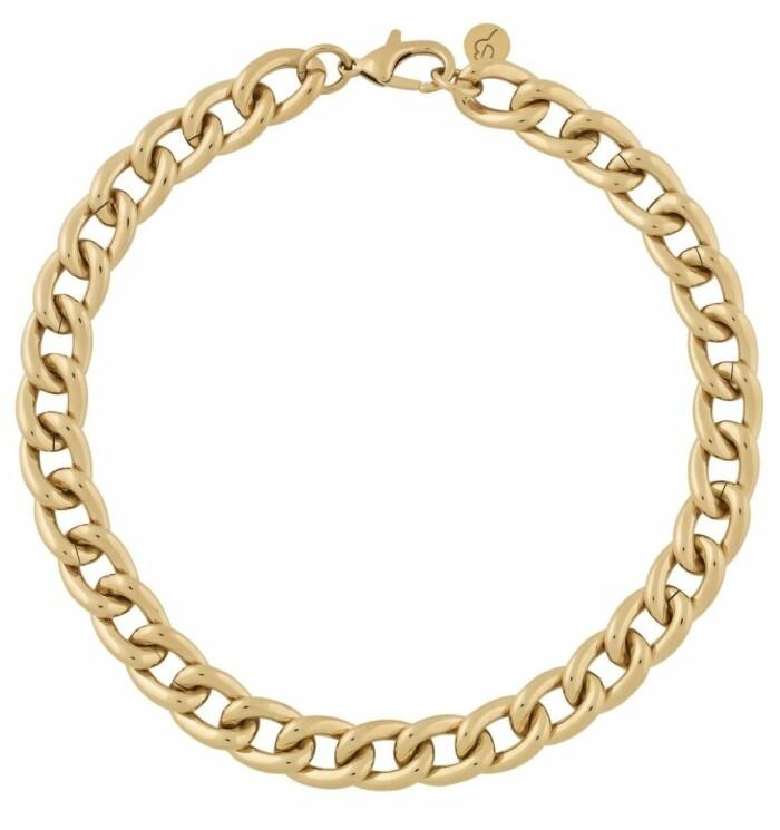 Trendigt och snygg halskedja i chunky modell från Edblad. Spana in fler snygga kedjor eller köp detta här.