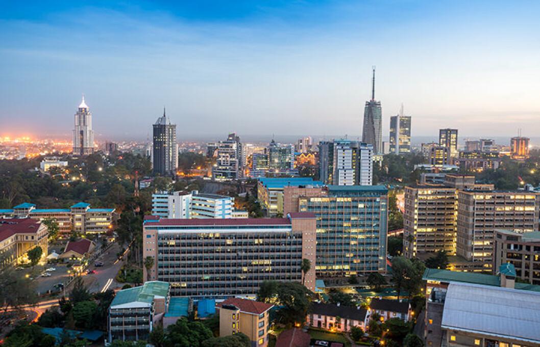 Nairobi i Kenya är ett spännande resemål.
