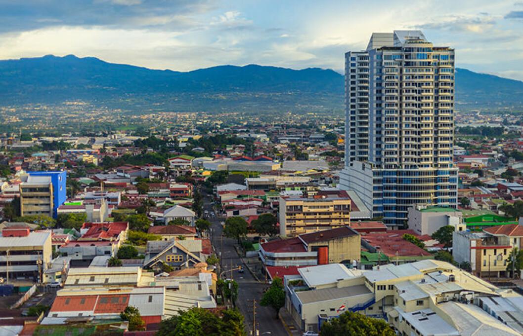 Det finns många historiska byggnader i  San José, Costa Rica.