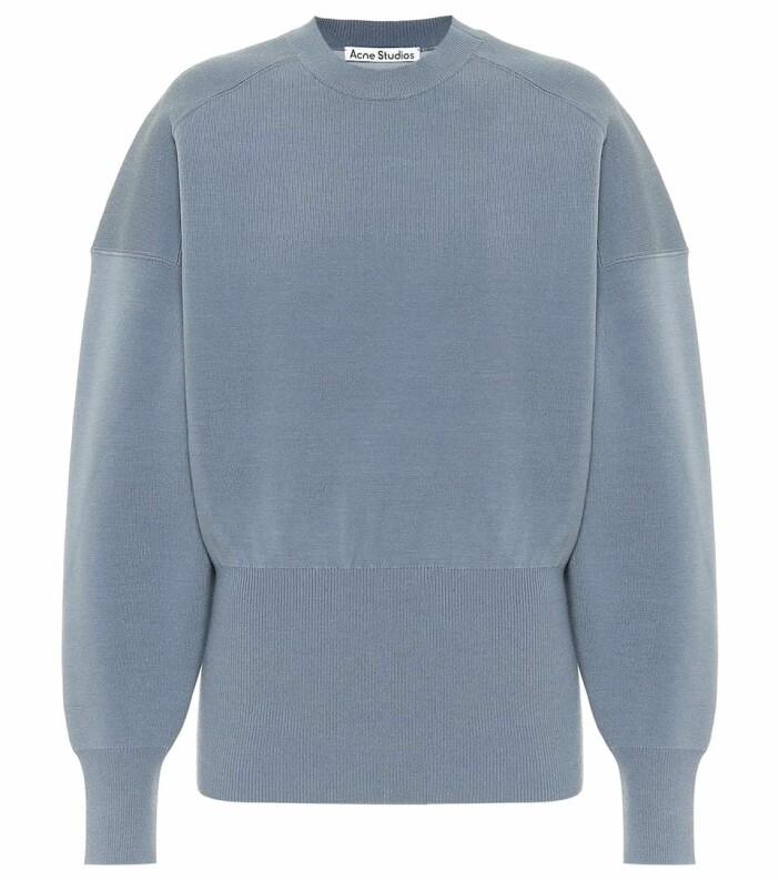 acne studios tröja blå