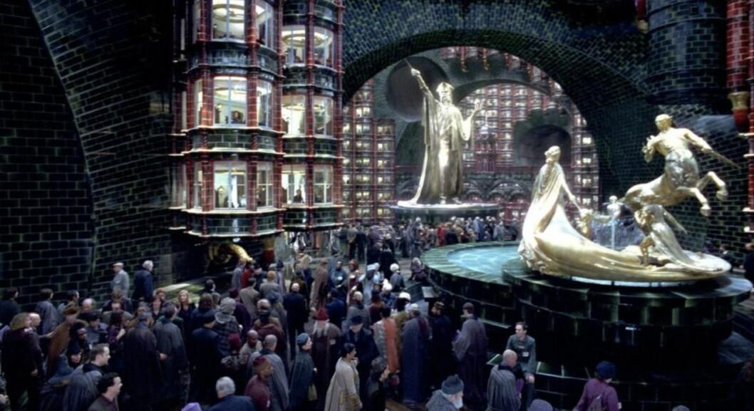trolldomsministeriet i Harry Potter