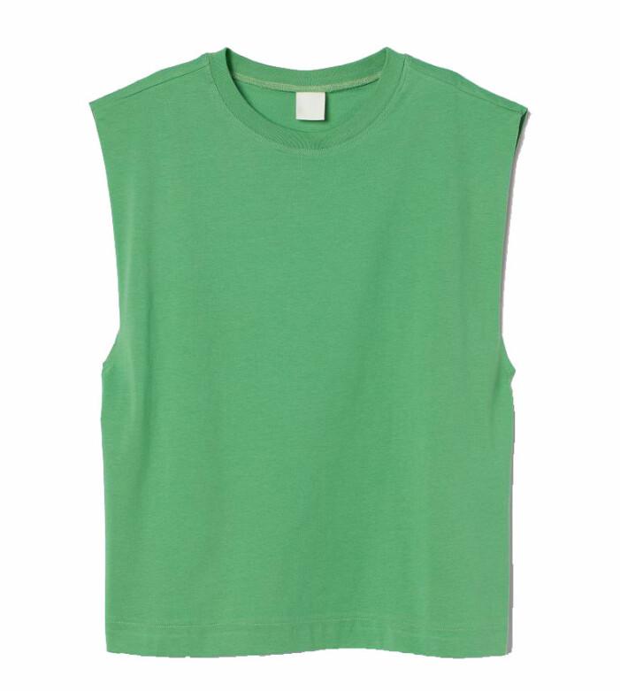 grönt linne