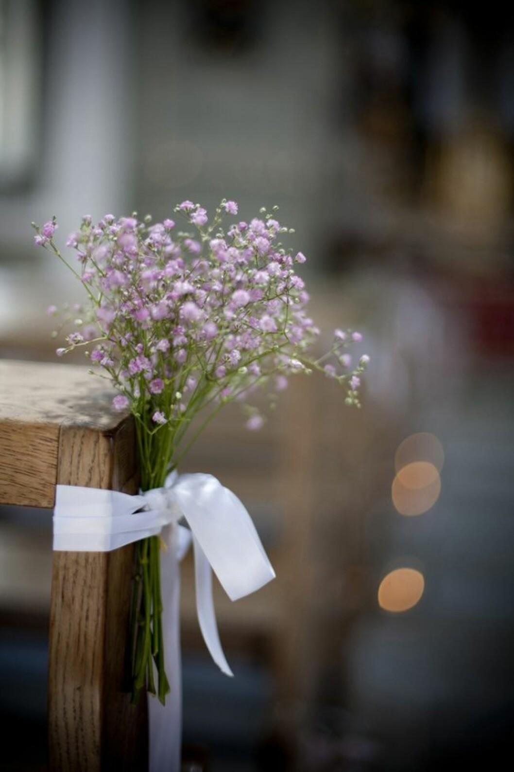 Bröllopstips, små blommor