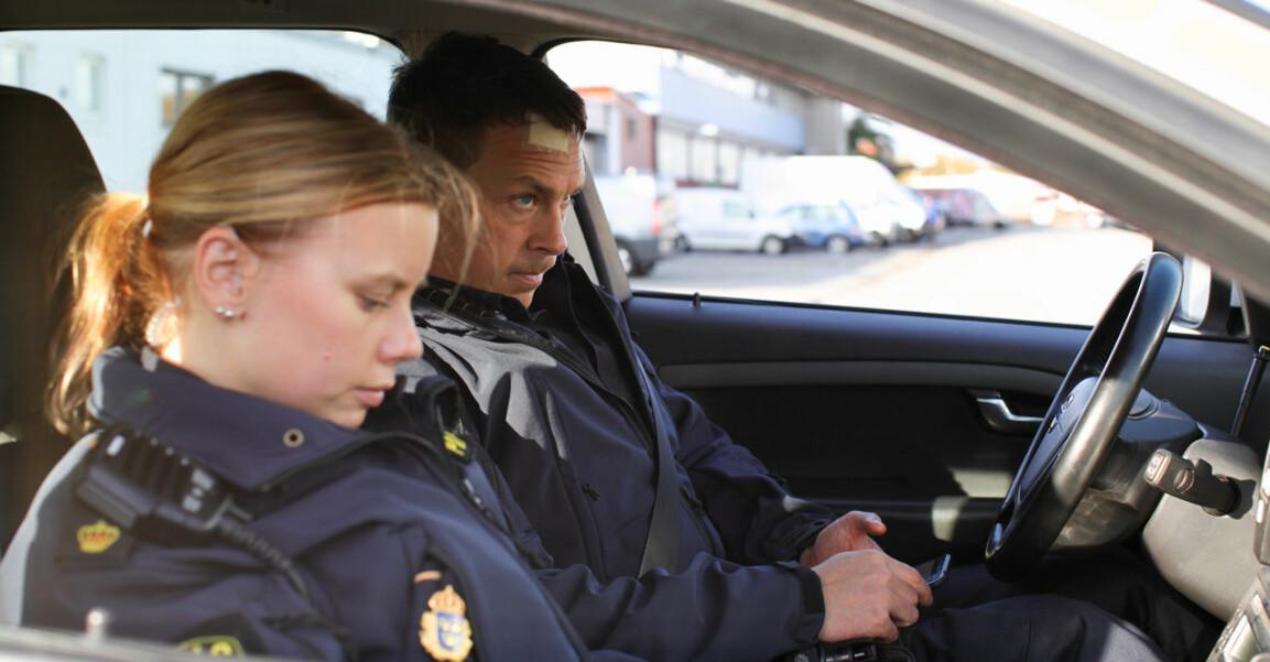 Sara, Magnus i Tunna blå linjen