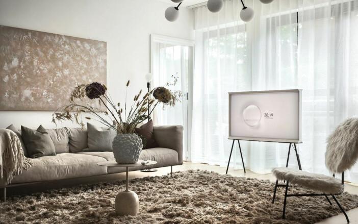 tv från samsung på ben