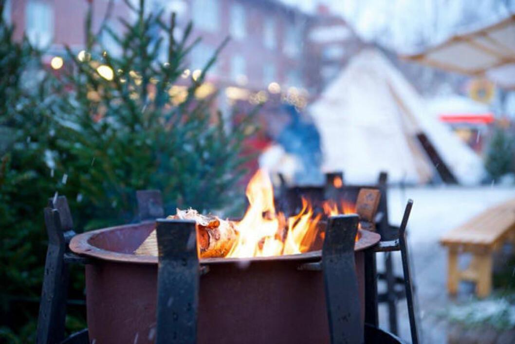 Umeå julmarknad.