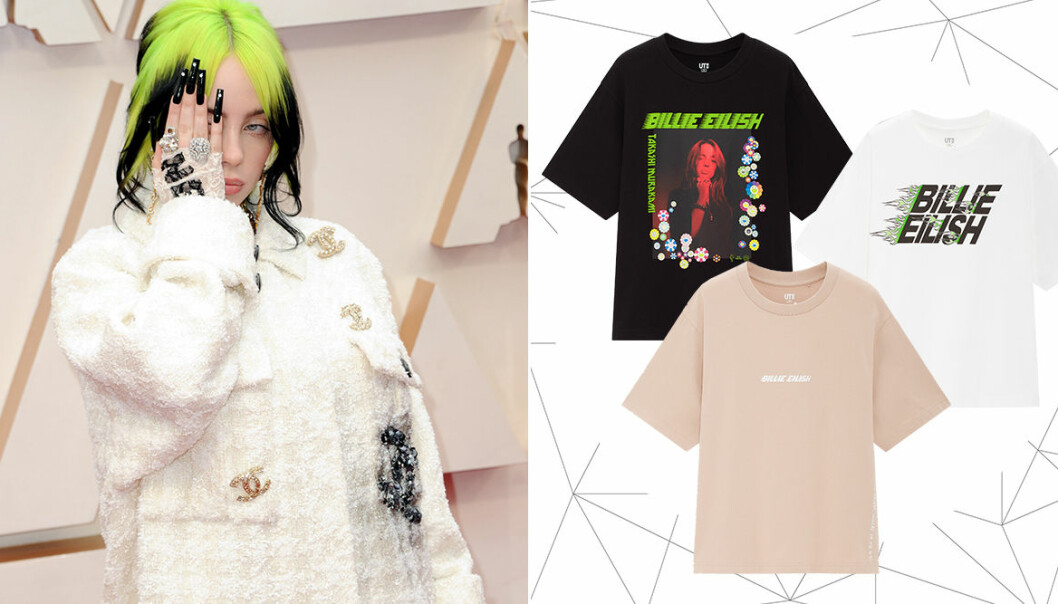 Uniqlo släpper t-shirtkollektion med Billie Eilish och Takashi Murakami