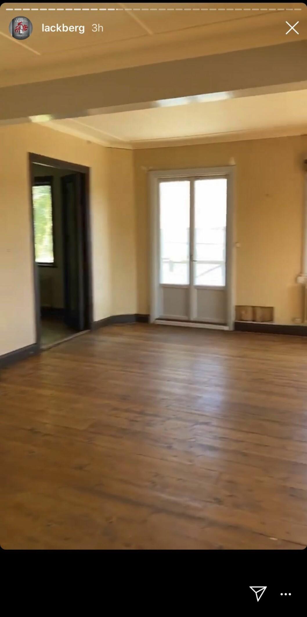 Läckberg nytt hus